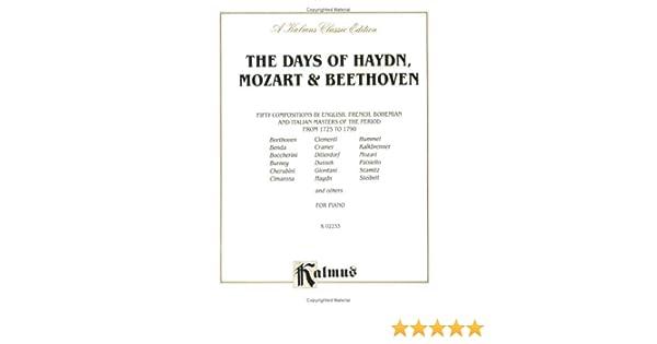 Sonata in C Major K 545 Kalmus Edition