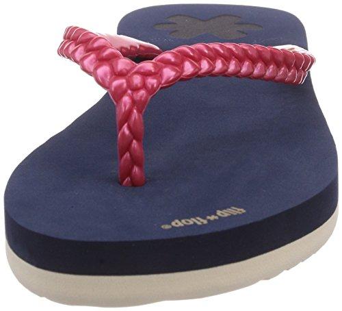 flip*flop slim layer - Sandalias de material sintético para mujer multicolor - Mehrfarbig (032 deep night)