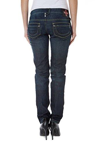 Jeans 3750 ZUELEMENTS Mujer Denim LELA Azul Z170270040231F qxwAf7p