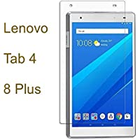 M.G.R.J HD+ 9H Hardness Toughened Tempered Glass Screen Protector for Lenovo Tab 4 8 Plus (Transparent)