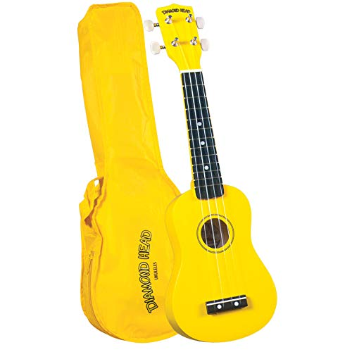 Diamond Head DU-104 Rainbow Soprano Ukulele - Yellow from Diamond Head