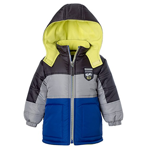 Ixtreme Puffer Jacket For Boys, Babies & Toddlers With Fleeced Lined Hood Snow Motorcycle Jackets