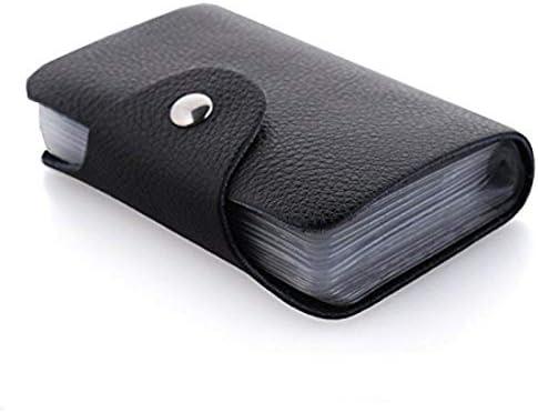 sale retailer 7a81d a0c35 Kraptick Leather Credit Card Holder/Business Card Holder/ATM Card Holder  for Women Men- 24 Card Slots