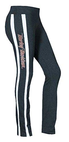 Harley-Davidson Women's Activewear Sweatpants, Rhinestone H-D, HDB-201G (Harley Womens Activewear)