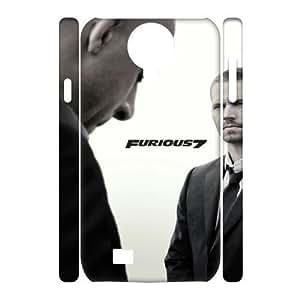 Furious 7 YT0014106 3D Art Print Design Phone Back Case Customized Hard Shell Protection SamSung Galaxy S4 I9500