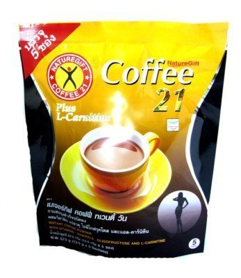 Naturegift Coffee 21 Instant Coffee with L-Carnitine 5 Sachets