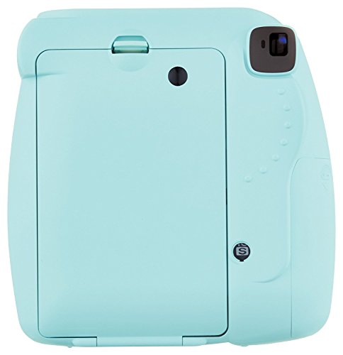 Fuji Instax Mini 9 + Carry Case + Rechargeable AA Batteries & Charger + Instax Mini Film (40 Sheets) (Ice Blue) by K&M (Image #6)