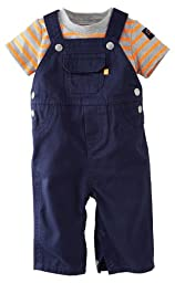 Carter\'s Baby Boys\' 2 Piece Overalls Set (Baby) - Blue - 6 Months