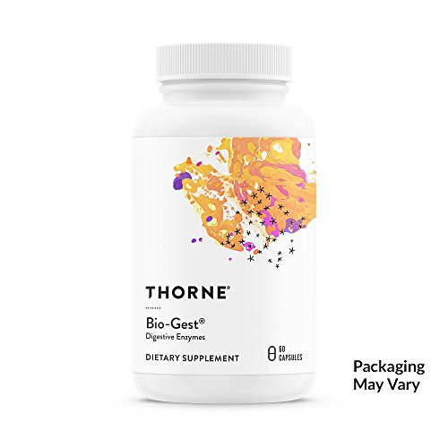 Thorne Research - Bio-Gest - Blend of Digestive Enzymes to Aid Digestion - 60 Capsules (Fat Bladder Gall Digestion)