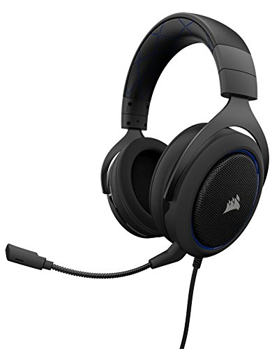 41nq%2BucfkBL - Corsair HS50 Stereo Gaming Headset, Carbon