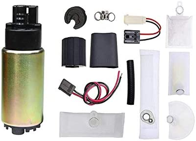 Universal Electric Fuel Pump Installation Kit with strainer TOPSCOPE FP388335