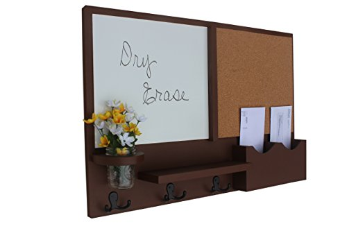 room and board furniture reviews. legacy studio dcor message center with white board u0026 cork letter holder coat rack key hooks smooth chocolate room and furniture reviews