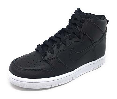 Nike Dunk High (GS) Black/Black-White Zise 5.5Y