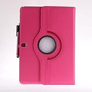 get Rotatable Leather Case with Stand and Touch Pen for Samsung Tab Pro 10.1 T520 (Assorted Colors) , Green