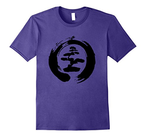 Cool Bonsai Tree T-shirt Gift for Yoga Lovers