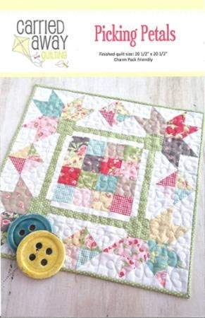 ls Pattern,Miniature Quilt, by Carried Away Quilting~ Charm Packs ()