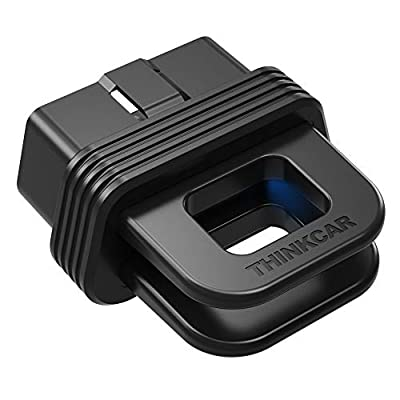 thinkcar 1 Bluetooth OBD2 Scanner, 10 OBDII Test Modes Full-Systems Diagnoses Real-time Remote Diagnostic Black Box OBD Data Recording Portable Scan Tool for iOS & Android Devices: Automotive