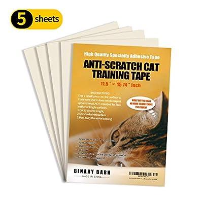 Cat scratching Binary Barn Cat Scratch Deterrent Tape, Furniture Protectors... [tag]