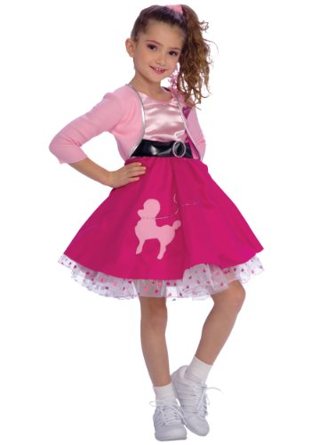 Rubie's Fifties Girl Child's Costume, Toddler -