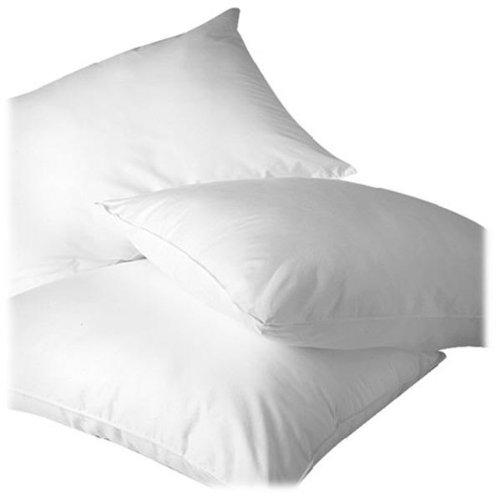 Homescapes – Relleno Cojín 60 x 60 cm Color Blanco, Cojín interior 4 unidades con relleno de Natural 100% plumas de pato, funda 100% algodón