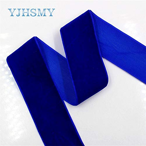 Lavenz 1712306,5yard/lot 38mm Flocking Solid Series Style Color Ribbons DIY Velvet Material,Wedding Accessories Packaging ()