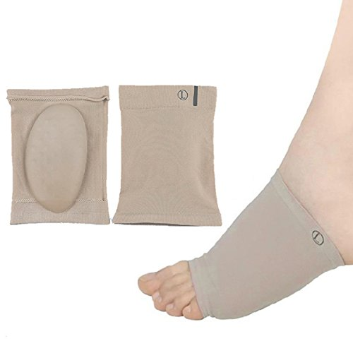 Oxford Bone China - CHNHIRA Arch Support Socks - 2 Pieces in one set-Arch Support Cushions-Comfort Spandex SEBS Gel Pads