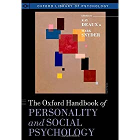 Learn more about the book, The Oxford Handbook of Personality and Social Psychology