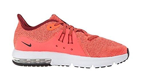 Nike Mens Air Max Jande Tre Löparsko Laget Röd / Svart-total Crimson-vast Grå