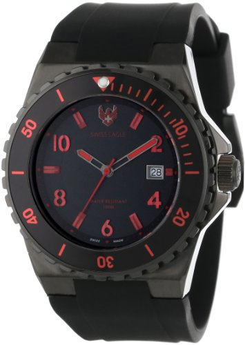 Swiss Eagle Men's SE 9039-04 Response Black Watch