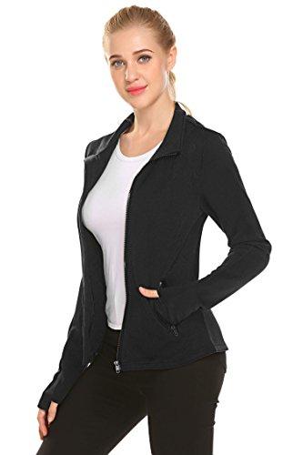 Black Full Zip Performance Jacket - 7