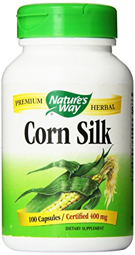 Nature's Way Corn Silk Capsules, 400 mg, 100 Count