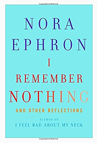 book cover of I Remember Nothing