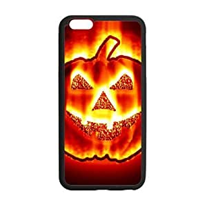 Fantastic Halloween Pumpkin In Fire Cool Style PC & TPU Case Cover for iphone 5/5s ''