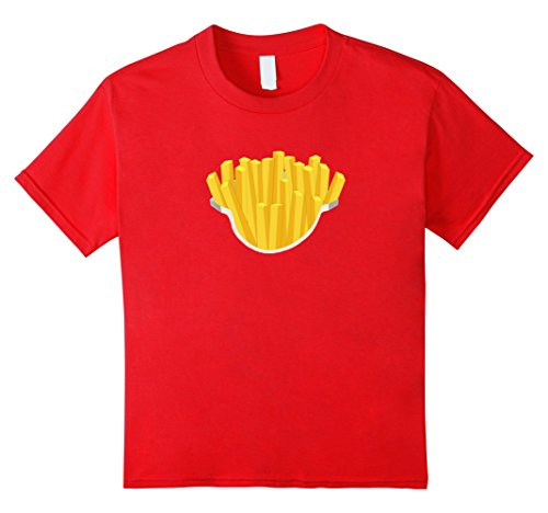 French Kid Costume Fry (Kids Funny French Fries last minute costume t-shirts for kids 12)