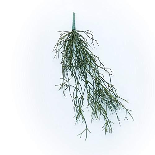 人工観葉植物 リプサリスハンキングブッシュ(12個セット) bb010 (代引き不可) インテリアグリーン 造花 HANGING BUSH B07SYHNGB2
