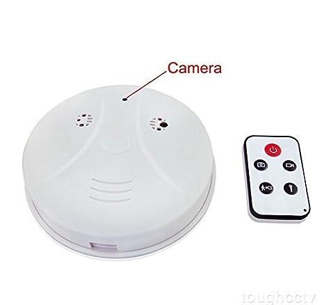 Detector de cámara espía Xingan niñera farmacovigilancia ocuité detector de humo de movimiento con cámara y mando a distancia de seguridad, ...