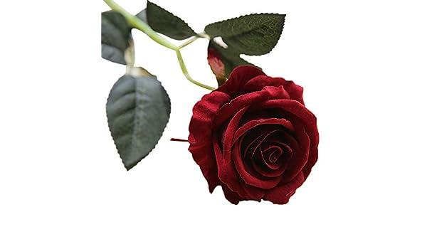 ZHMEI - Lámpara de techo para el día de la madre, diseño de rosas artificiales, rojo: Amazon.es: Bricolaje y herramientas
