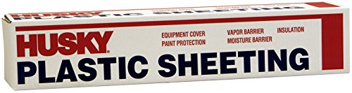 (Husky Plastic Sheeting Clear 4ml 12ft x 100ft)