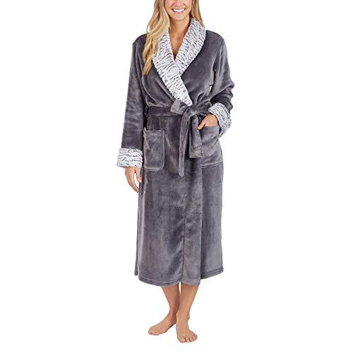 (Carole Hochman Ladies' Plush Wrap Robe (S,)