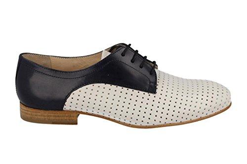 Lottusse S8552 QUERO Shoe Blanc Indigo Blanc 8W8xw57qrp