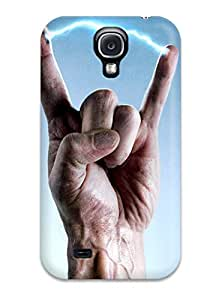 New Style 9604812K17580357 durable Protection Case Cover For Galaxy S4(crank High Voltage (2))