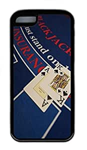 iPhone 5C Case Blackjack Holiday TPU Custom iPhone 5C Case Cover Black wangjiang maoyi