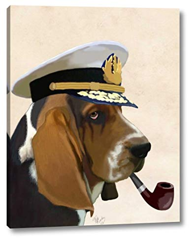 Basset Hound Sea Dog by Fab Funky - 9