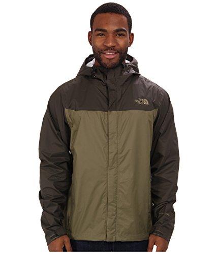 - The North Face Venture Jacket Men's Burnt Olive Green/Black Ink Green XL