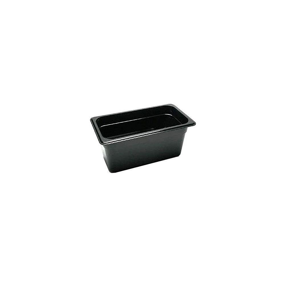 Cambro 36HP110 Black 1/3 Size High Heat 6' H-Pan [並行輸入品]   B06X6BGXFK