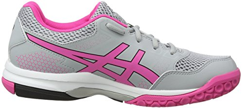 Volleyballschuhe Asics 8 Grau Glow 020 Mid Gel Grey Damen Pink Rocket F4qPBT