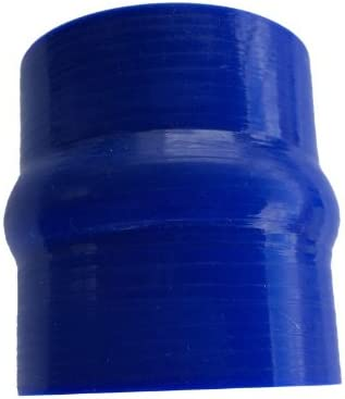 4-PLY 2.75 2 3//4 70mm ID Turbo Silicone Silicon HUMP Coupler Hose Intercooler Pipe Tube 3 76mm Long