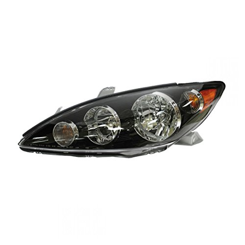 Headlight Headlamp w/Black Trim Driver Side Left LH for 05-06 Camry -
