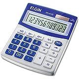 Calculadora Elgin com 12 dígitos, duplo zero MV-4125 Azul, Elgin, 42MV41250000, Azul