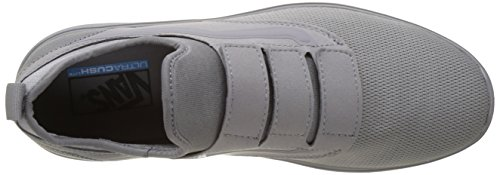Vans Unisex Adults' Ua Iso Priz Low-Top Sneakers Grey (Mono Grey) EKIaCx